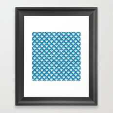 fish scales Framed Art Print