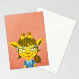 Nona Jerapah Stationery Cards