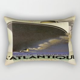 Vintage poster - L'Atlantique Rectangular Pillow