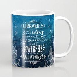 Libraries Coffee Mug
