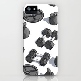 I Like Weights iPhone Case
