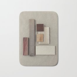 Walnut-Padauk-Soft Maple Wood Bath Mat