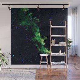 Galaxy: Green Witch's Head Nebula Wall Mural