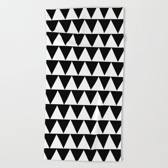 Triangles Beach Towel