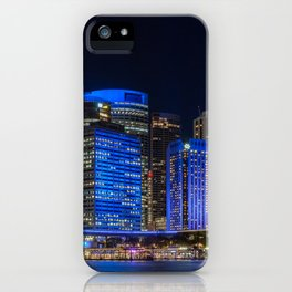 Color the City blue - Vivid Sydney iPhone Case