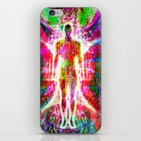"""matrix iPhone & iPod Skins featuring """"The matrix """" by shiva camille"""