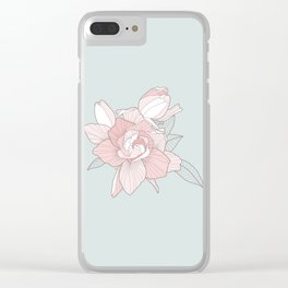 GARDENIA - Mint Clear iPhone Case