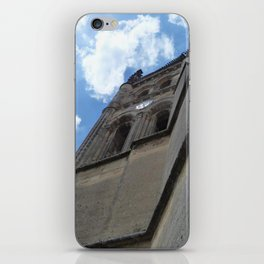 Saint Emilion spire iPhone Skin