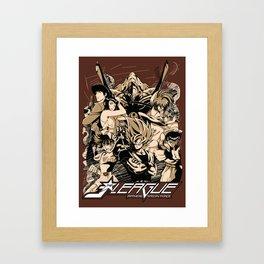 J-LEAGUE - Japanese Special Force Framed Art Print