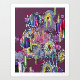 Alien Organism 27 Art Print