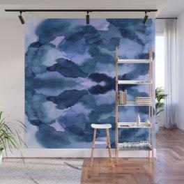 Indie blue Wall Mural
