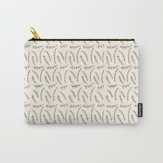 Delicate Twigs Pattern Carry-All Pouch