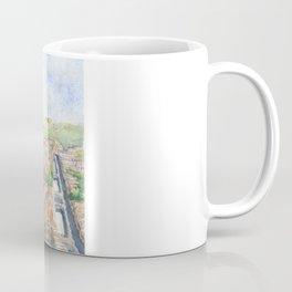 Delft aerial view in watercolor Coffee Mug