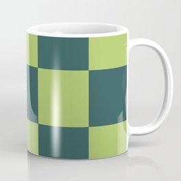 classic green plaid Luca Coffee Mug