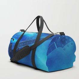 Guitar Blues Duffle Bag