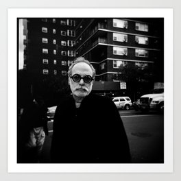 NYC holga portraits 6 Art Print
