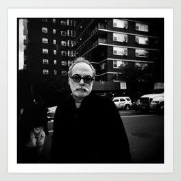 NYC holga portraits 6 Art Print