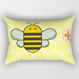 Bee Positive! Rectangular Pillow