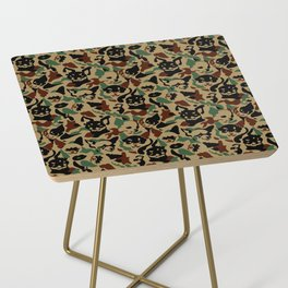 Chihuahua Camouflage Side Table