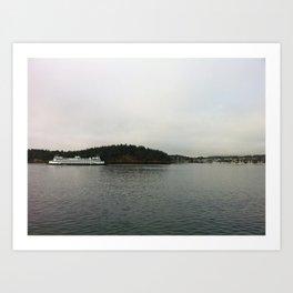Friday Harbor, 2 Art Print