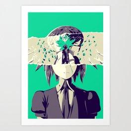 Loss - Houseki no Kuni poster Art Print