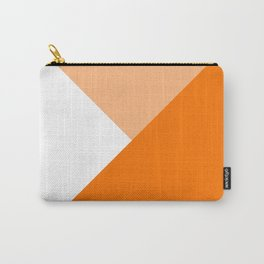 Orange Angles Carry-All Pouch