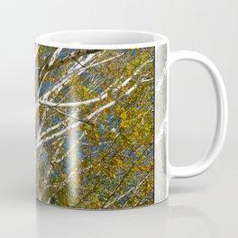 AUTUMN BIRCH TREES Coffee Mug