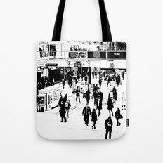 London Commuter Art Tote Bag