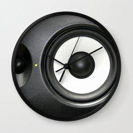 Loudspeaker Wall Clock