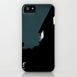 Midnight light iPhone Case
