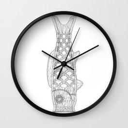 KOINOBORI w/b Wall Clock