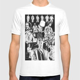 Stop Making Sense Retro Style Movie Poster T-shirt