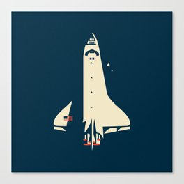The Shuttle Canvas Print