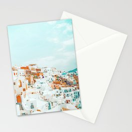 Travelers || #photography #greece Stationery Cards