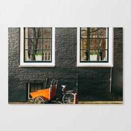 Nieuwmarkt - Amsterdam, The Netherlands - #13 Canvas Print
