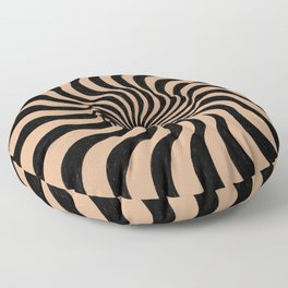 swirl and curl Floor Pillow