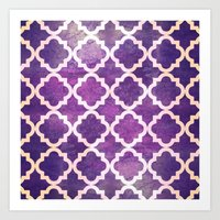 morocco Art Prints featuring Morocco by Raluca Ag