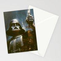 Darth Vader Vintage Stationery Cards
