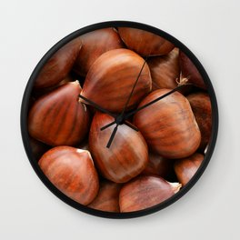 Chestnuts Wall Clock