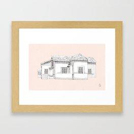 come home Framed Art Print