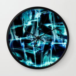 """Static 2: In Chill Mode"" Wall Clock"