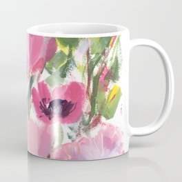 Pink Poppy Graphic Coffee Mug