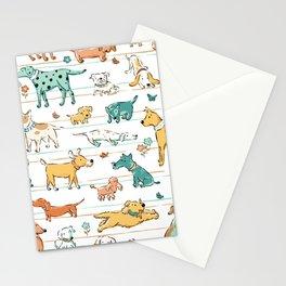 Dogs Dogs Dogs Stationery Cards