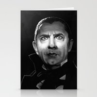 actor Stationery Cards featuring Bela Lugosi is Dead by Thubakabra