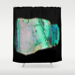 Chrysocolla Shower Curtain