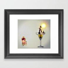 MixMotion: Champagne cocktails  Framed Art Print