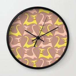 MCM Pussycat Wall Clock