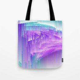 Flame - Pixel sort purple Tote Bag
