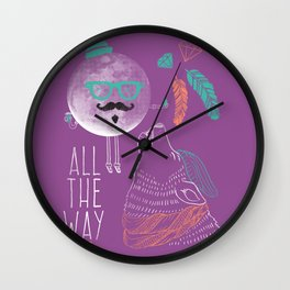 All the Way Wall Clock