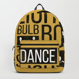 Bulb Boy Backpack